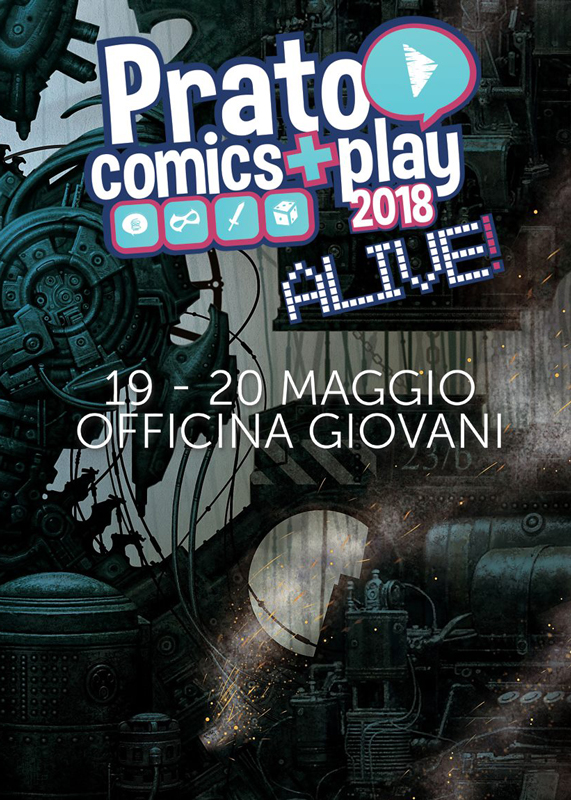Myth Press al Play Modena 2018